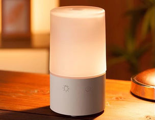 China Wood Base Ultrasonic Air Scent Diffuser Machine 90ml For Home supplier