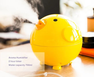 ABS Material Ultrasonic Air Humidifier With Aroma Tray Lovely Cartoon Animal Pattern